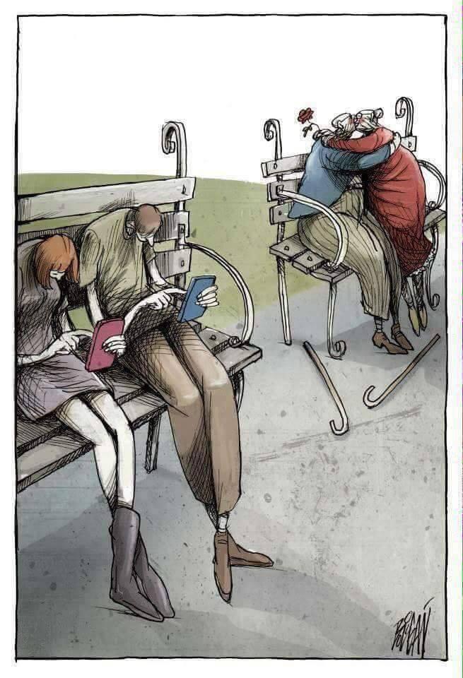 Thực trạng cuộc sống hiện đại 5