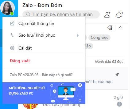 Cách đổi tên Zalo trên điện thoại và máy tính mới nhất