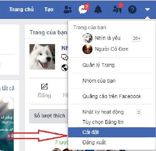 đổi tên Facebook trên máy tính và điện thoại