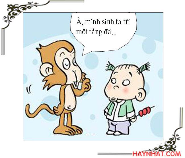 Tây Du Ký Hài, Tôn Ngộ Không, Tây du ký,