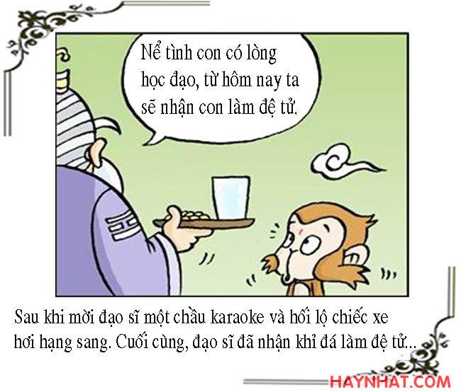 Tây Du Ký Hài (5): PHÉP CÂN ĐẦU VÂN