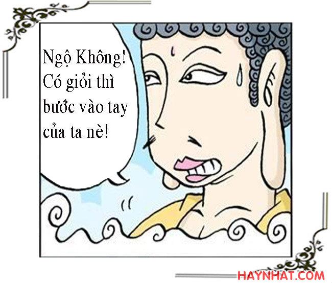 Tây Du Ký hài (13): PHẬT TỔ RA TAY